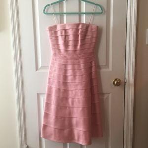 *WORN ONCE* Carmen Marc Valvo 100% Silk Dress